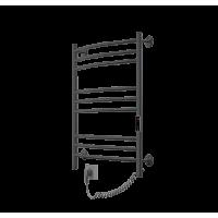 Полотенцесушитель ZorG Рио Гранд 50-80, 235 вт (К-ЖК панель, Черный)