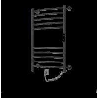 Полотенцесушитель ZorG Жемчужина Гранд 50-80, 225 вт (К-ЖК панель, Черный)