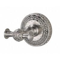 Крючок двойной для ванной комнаты ZorG AZR 02 SL
