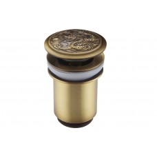 Гидрозатвор Клик-Кляк для ванной комнаты ZorG AZR 1 BR