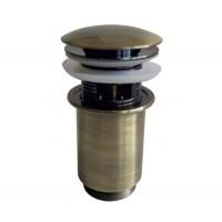 Гидрозатвор Клик-Кляк для ванной комнаты ZorG ZR 101 BR