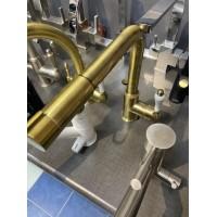 Смеситель для кухни ZorG ZR 320 Bronza  - Уценка (витрина)