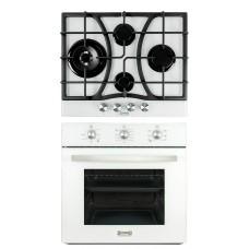 Комплект духовой шкаф ZorG Technology BE4 black + варочная панель ZorG Technology BLC FDW black