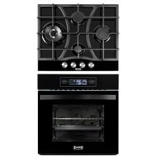 Комплект духовой шкаф ZorG Technology BE11 TT black + варочная панель ZorG Technology CLC FDW black